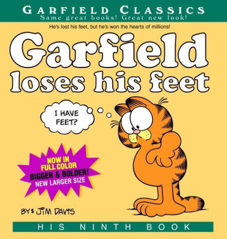 Garfield Loses His Feet: His 9th Book by Jim Davis (August 31,2004)