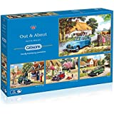 Out And About 4 X 500 Piece Jigsaw G5034