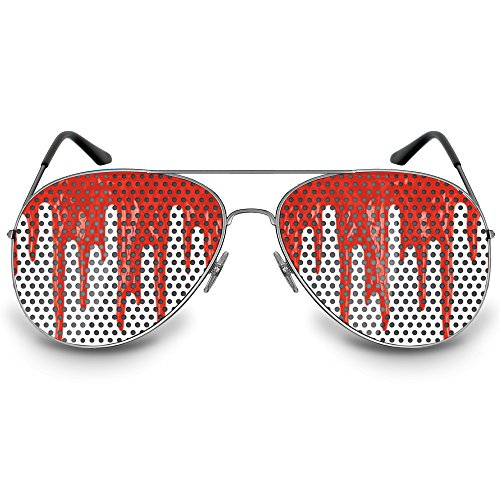 COOLEARTIKEL Halloween/Fasching Spaßbrille mit Motiv