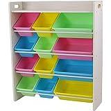 Babycenterindia Rack with Top Board Pastel