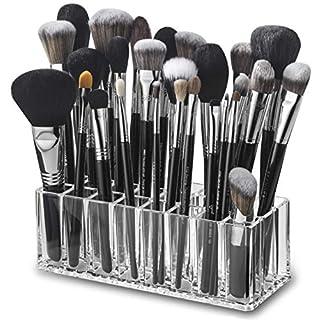 byAlegory Acryl Make - up Pinsel Organizer   24 Räume