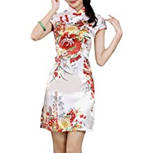 XueXian(TM) Mujer de Elegente Qipao de Estilo China