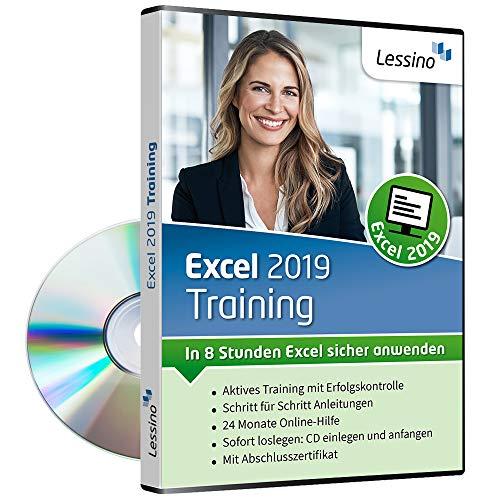 Excel 2019 Training - In 8 Stunden Excel sicher anwenden | Lernen Sie in diesem Kurs Schritt für Schritt die Grundlagen von Excel | inkl. Online-Kurs mit 100+ Übungen [1 Nutzer-Lizenz]