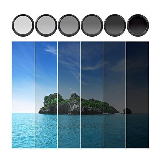 ZOMEI-72mm-ND-Filter-Ultra-Slim-AGC-Optisches-Glas-Profi-Filter-Linsenfilter-Fader-ND2-400-Filter-Einstellbare-Variable-Dichte-Neutral-Grau-ND2-bis-ND400-Fr-DLSR-Objektiv