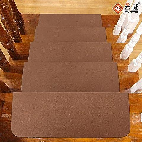FQG*nello stile giapponese scale Matratzenauflagen di rotazione Massivholz selbstklebenden cola scale scale stuoie Pad , Net colore colore 1 Chip i prezzi di 70×23×4cm pilastro , il caffè-carnagione morena