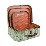 Sass and belle by RJB Stone - Valise, Trolley - Set de 3 valisettes Lamas