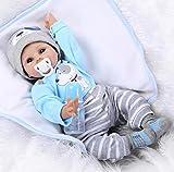 JINGPIN Muñeca Renacida 55 cm Realistic Reborn Baby Muñecos Bebé 22...