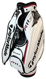 TaylorMade TMX T2 Cart Bag , White/Silver/Black