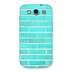 Cyan Breath Back Case Cover for Galaxy S3