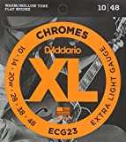 D'Addario ECG23 XL E-Gitarren-Saiten Satz Light 010' - 048'