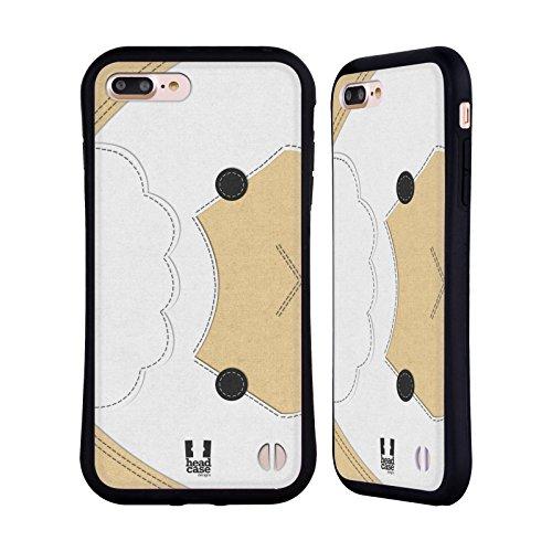 Head Case Designs Koala Animaux - Tache Serie 1 Étui Coque Hybride pour Apple iPhone 5 / 5s / SE Mouton