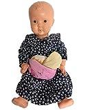 Größenverstellbares Kirschkernkissen von Castejo für Baby`s und Kleinkinder, Wärmekissen oder Kühlkissen als Gürtel, ideal bei Bauchschmerzen und Blähungen