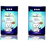 Neatykitty (Non Scented) Premium Clumping Cat Litter 5 Kg Pack Of 2 (Total 10 Kg)