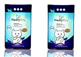 #6: Neatykitty (Non Scented) Premium Clumping Cat Litter 5 Kg Pack of 2 (Total 10 kg)