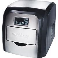 Proficook EWB 1007 - Máquina de hacer cubitos de hielo, 10-15 kg, 180 W, color negro y gris