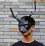 Maxleaf Paper Mask bunt, Rentiermaske DIY (black)