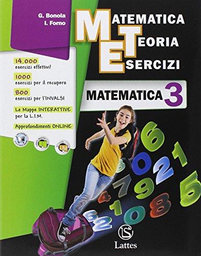 Matematica teoria esercizi. Matematica-Il mio quaderno INVALSI. Per la Scuola media. Con espansione online: 3