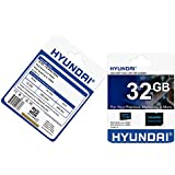 Hyundai SDC32GU1 Memoria Flash 32 GB MicroSDHC Clase 10 - Tarjeta de Memoria (32 GB, MicroSDHC, Clase 10, Negro)