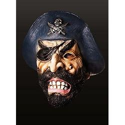 Máscara de pirata temible para adulto.