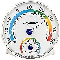 Mbuynow Termoigrometro Termometro e Igromentro Misuratore di Temperatura e Umidità per Interni ed Esterni