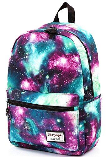 Hotstyle trendymax zaino scuola galassia 20l per porta pc da 15