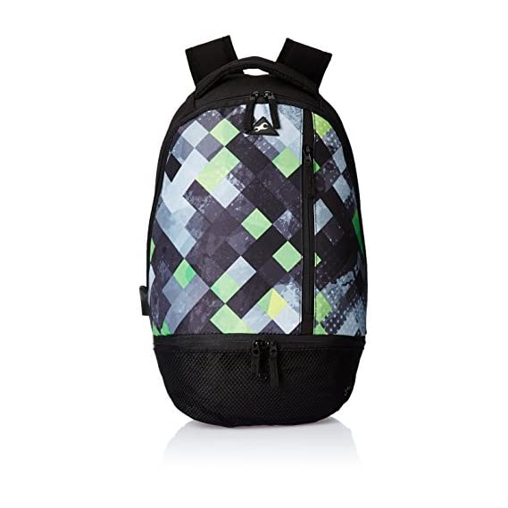 Fastrack 26.38 Ltrs Black Casual Backpack (A0660NBK01)