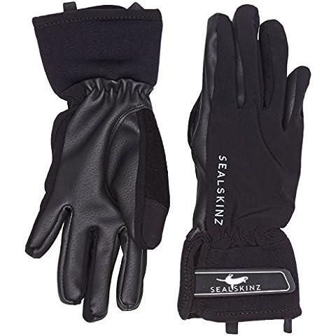 Sealskinz, Guanti All Weather Riding, Nero (Black), XL