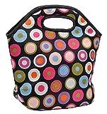 #9: Marine Pearl Stain Free Insulated Waterproof Premium Polka Dot Lunch Bag