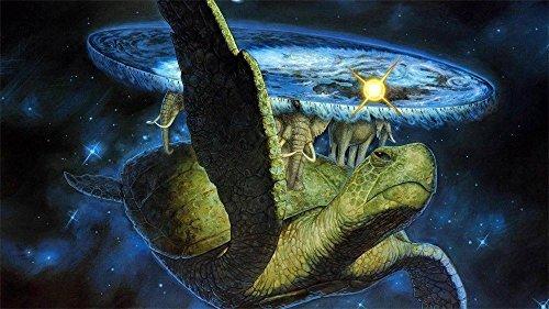 Tomorrow sunny Terry Pratchett Discworld 61x 91,4cm Silk poster Wall Decor