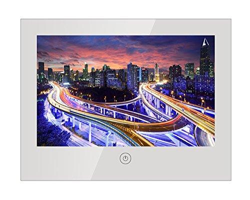 Soulaca 10.6inch Portable IP66 Waterproof HD Ready LED Digital Bathroom Mirror TV