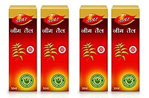 Dabur Neem Ka Tail, 50 ml (Pack of 4)