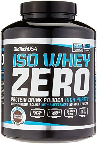 Biotech USA Iso Whey Zero - 2270g, laktose- und glutenfrei