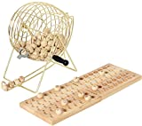 Hot 10009 18 cm Metall Cage Bingo Set
