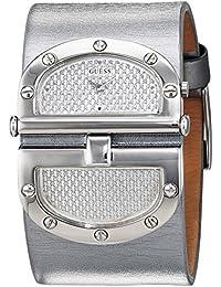 Guess Herren-Armbanduhr Analog Quarz - Leder W115010L3