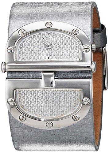 Guess W115010L3 - Reloj para hombre, pulsera de cuero, color Multicolor