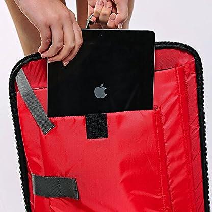 51hXwwqoAEL. SS416  - Perth 45x35x20cm Anti-Theft mochila y bolsa de viaje de viaje