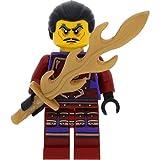 LEGO Ninjago Minifigur Clouse aus Set 70748 incl. 1 GALAXYARMS Flammenschwert
