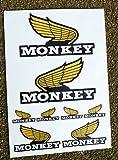 Monkey Bike 'Kotflügel' stil Motorrad Aufkleber Sticker set