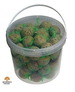 Ruddings Wood Pack of 30 Wild Bird Fat Balls
