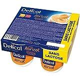Delical Crème HP + HC Sans Lactose Abricot