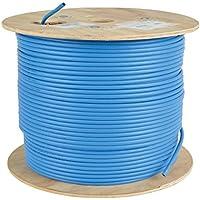 Tripp Lite Cat. 6A 10G Bulk eindrähtig Kabel, cmr-rated PVC, blau, 1000bunten '(N223–01K-bl)