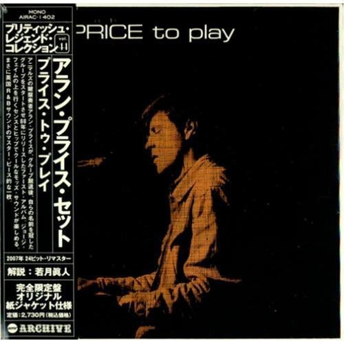 Alan Price Set: Price to Play (Audio CD)