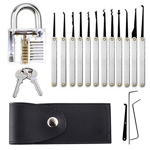 Professionelles Schlossöffnungs-Set, Schlüsselzieher-Werkzeugset, mit durchsichtigem...