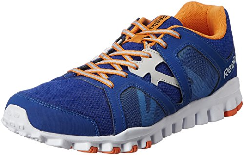 Reebok Men's Realflex Train Rs 2.0 Blue,Silver,White And Orange Running Shoes - 7 UK  available at amazon for Rs.2999
