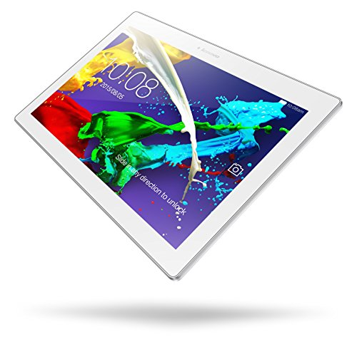 Lenovo Tab 2 (A10-30) 25,6 cm (10,1 Zoll HD) Tablet-PC (Qualcomm Snapdragon APQ 8009 Quad-Core Prozessor, 2GB RAM, 32GB eMMC, Touchscreen, Android 5.1) perl white