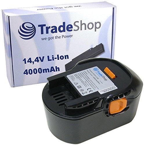 Preisvergleich Produktbild Trade-Shop Premium Li-Ion Akku 14,4V 4000mAh 58Wh für Würth Master SD 14.4 ersetzt 0700980420, 0700980425