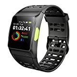 GPS Running Watch,P1 Smart Watch HRV Analysis Heart Review and Comparison