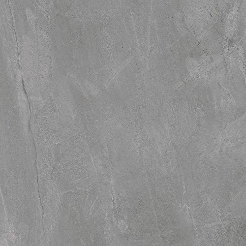 fliesenmax Feinsteinzeug Bodenfliese Collexion Tech Slate dark grey 59.2x59.2cm Natursteinoptik - Grey Slate Fliese