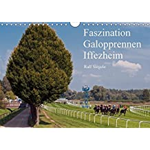 Faszination Galopprennen Iffezheim (Wandkalender 2018 DIN A4 quer): Galoppsport in Iffezheim, Baden-Baden (Monatskalender, 14 Seiten ) (CALVENDO Sport) [Kalender] [Apr 01, 2017] Siegele, Ralf