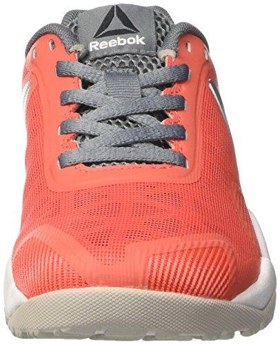 Reebok Bd5129, Scarpe Sportive Donna Arancione (Coral/Grey/Asteroid/Silver)